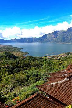 Mt. Batur. Bali.