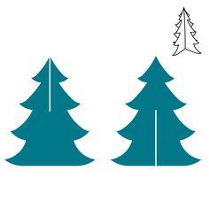 Christmas Tree Steel-Rule Die | AccuCut Craft