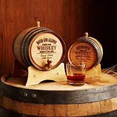 Look what I found at UncommonGoods: Personalized Whiskey Barrel for $NaN #uncommongoods