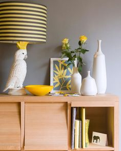 Is it wrong that I love this cockatoo lamp?
