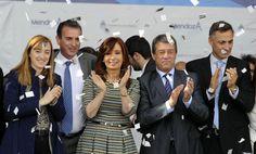 Inauguramos el edificio de la nueva U.D.I. (Unidad de Diagnostico Intensivo) Dr. Alfredo Metraux, en la localidad de Maipú, Mendoza, que contó con una inversión de 80 millones de pesos ---  http://www.cfkargentina.com/inauguramos-un-nuevo-centro-medico-en-mendoza/