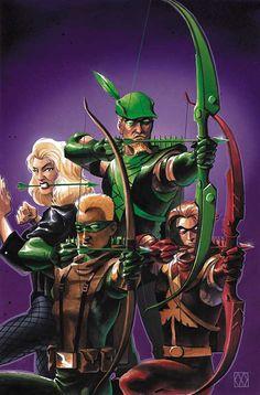 Black Canary, Green Arrows & Arsenal by Matt Wagner