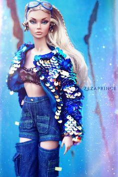 Zwarte Barbie pussy