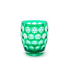 "Green ""Lente"" tumbler - Mario Luca Giusti - Our brands The designer touch for your interiors and wellness"