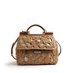 DOLCE & GABBANA #crochet #purse