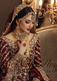 Latest Bridal Dresses, Asian Bridal Dresses, Pakistani Wedding Outfits, Indian Bridal Outfits, Indian Bridal Fashion, Pakistani Wedding Dresses, Wedding Dresses For Girls, Pakistani Bridal Makeup, Designer Party Wear Dresses