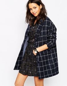 Sessun Oncle Georges Coat in Check