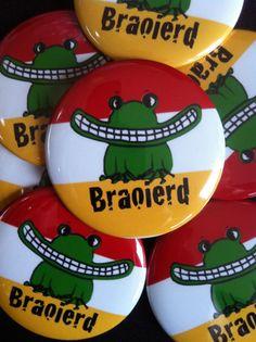 """Button """"Braoierd""""! Oeteldonk"""