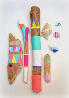 Ninuk: DIY Palos pintados