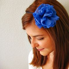Fabric Flower Headband from The Shop No. 144