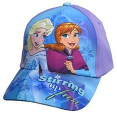 e7473c89381 Disney Frozen Anna Elsa Purple Baseball Cap - Girls 4-14  6014