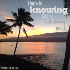 God always shows up