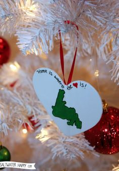 Perfect for our first Christmas apart in college First Christmas, Christmas Stuff, Christmas Ideas, Christmas Decorations, Christmas Ornaments, Holiday Decor, Newfoundland Canada, Newfoundland And Labrador, Xmas Crafts