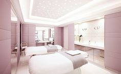 Battle of the Spas: Which of Paris' 8 Palace Hotels Tops Our.- Battle of the Spas: Which of Paris' 8 Palace Hotels Tops Our List? Dior Institut at the Plaza Athénée Hotel Spa - Clinic Interior Design, Interior Design Photos, Design Offices, Modern Offices, Beauty Salon Design, Beauty Salon Interior, Schönheitssalon Design, Design Color, Design Ideas