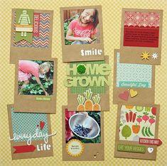 Homegrown Layout by Summer Fullerton - Scrapbook.com