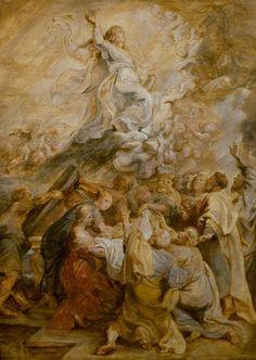Assumption of the Virgin  Peter Paul Rubens