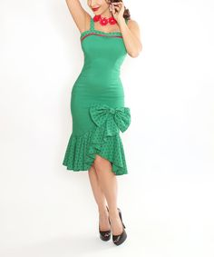 Look at this Green Cubana Dress - Women