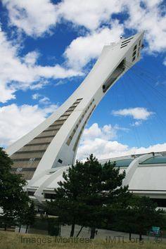 Le stade olympique de Montréal, création: 1972