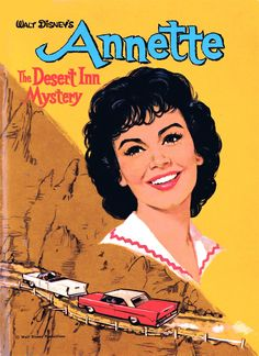 Annette Funicello. I had this series of books as a kid