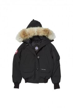 Chilliwack Bomber in Black by Canada Goose
