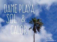frase para viajar / vacaiones / explore / playa Quote design for holidays / vacation / beach :) Akauli.com