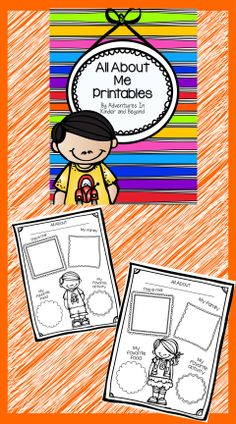 All About Me posters to use to get to know your students. There are 2 black line poster designs( A boy and girl). I use this in my class for the Star Student of the Week. Students receive the poster on Friday along with the information sheet. The students can write and draw pictures. Great for Back to School Night, Portfolios, All About Our Class Board.