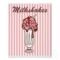 Malt Shop Milkshakes