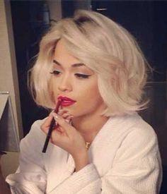 Find the most popular short blonde hair, short blonde hairstyles, blonde bob, etc. Blonde Bob Haircut, Blonde Bob Hairstyles, Pretty Hairstyles, Teen Hairstyles, Short Haircut, Celebrity Hairstyles, Hair Styles 2014, Short Hair Styles, Pelo Popular