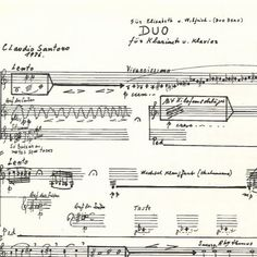 Cláudio Santoro - Duo para clarinete e piano (1976) - Salatiel Ferreira  #ClassicalMusic #Music  Join us and SUBMIT your Music  https://playthemove.com/SignUp