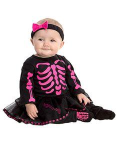 Baby skeleton Halloween costume