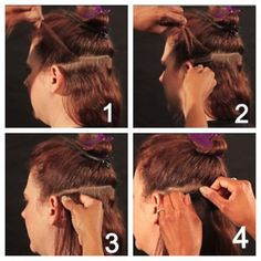 How to install tape in hair extensions tape in hair extensions satinstrands tape in hair extensions sallybeauty pmusecretfo Choice Image