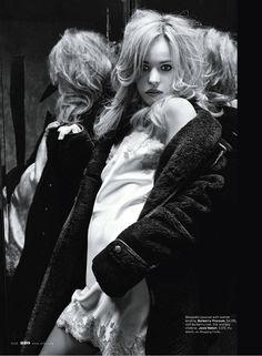Rachel McAdams for Elle US by Alex Cayley