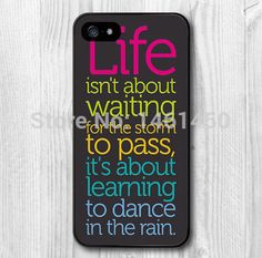 Life Quote Dance In The Rain cell phone case for iPhone 4 5s 5c 6 Plus iPod touch 4 5 Samsung Galaxy s2 s3 s4 s5 mini note 2 3 4-in Phone Bags & Cases from Phones & Telecommunications on Aliexpress.com | Alibaba Group
