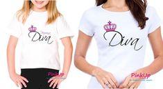 Kit 2 Camisetas - Tal Mãe Tal Filha Diva