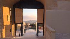 The sunset as seen from inside the gates of Gozo's Citadella. The island of Malta has got many beautiful sights! Malta Island, Island Life, Maltese, Sunset, Beautiful, Sunsets, The Sunset