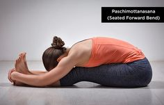 Paschimottanasana (Seated-Forward-Bend) - Yoga for Increasing Height