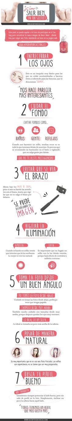 COMO SALIR BIEN EN LOS SELFIES Más curiosidades en facebook.com/elblogdecris