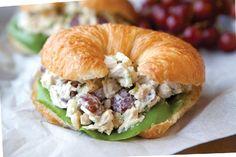 Croissant Chicken Salad Sandwich