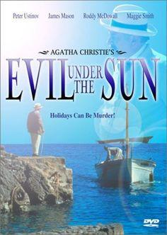 Agatha Christie's 'Evil Under the Sun', 1982 - Directed by Guy Hamilton with Peter Ustinov heading an all star cast. Good Movies, Movie Tv, Agatha Christie, Evil Under The Sun, Dame Diana Rigg, Peter Ustinov, Sun Holidays, Maggie Smith