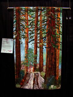 DSC02690 Quilt 1058 Hope in the Forest by Eva Henneberry