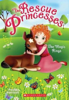 J SERIES RESCUE PRINCESSES. Princess Emily's sister, Lottie, is the newest member of the Resuce Princessesses. She is excited to have animal adventures of her very own. When Lottie uncovers a plot to steal horses from the palace stables, she knows she must act. She is a Resuce Princess now -- if anyone can save those animals, it's her!