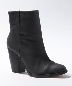 Leather Ankle Boot in  from L.L.Bean Signature on shop.CatalogSpree.com, your personal digital mall.