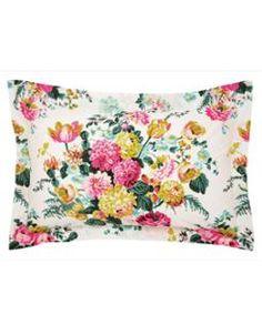 PILLOWRUBYFLRL Ruby Floral Pillowcase