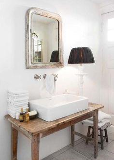 Bathroom Sink Design, Bathroom Basin, Bathroom Renos, Modern Bathroom Design, Small Bathroom, Master Bathroom, Bathroom Cabinets, Bathroom Vanities, Pedastal Sink Bathroom