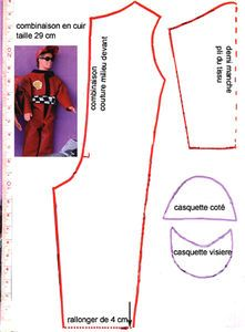 ken doll clothes combinaison_cuir. ..•♥°.... Nims.... °♥•