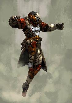 Warlock , Iqbarizwan Peter Putty Putdut on ArtStation at https://www.artstation.com/artwork/warlock-ce1540c3-9afc-4e5b-9c90-87757436f135