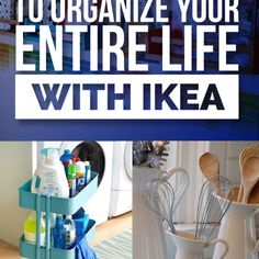 Up until recently I wasn't a big fan of Ikea's. Actually, I even hated when some of my friends started talking about their cheap and standardized furniture. However, last week I changed my mind about the chain. I saw a list of ideas posted on Buzz Feed on how to organize your life using...
