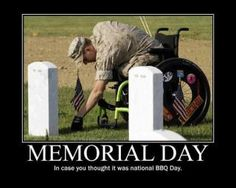 Just keeping it real.  Thank you to all who have ever served.