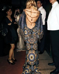 I LOVE this Dior Haute Couture dress I wore to the Met Gala in 2007. It reminds me of a Gustav Klimt painting.