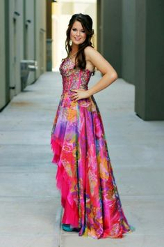 Hannah Spehar looked lovely in her High-Low #Jovani #Prom dress!